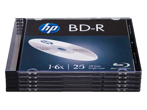 HP BDR Media - 5 Pack