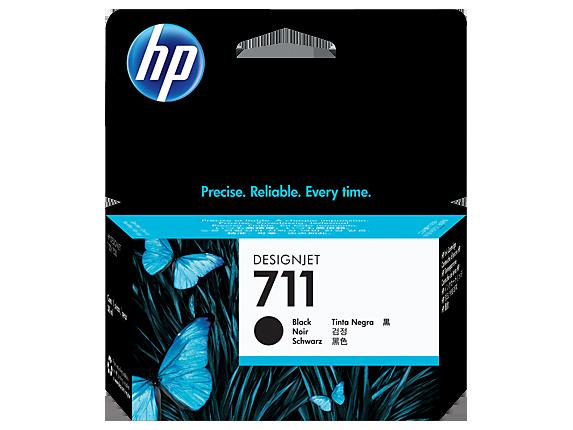 HP 711 38-ml Black DesignJet Ink Cartridge