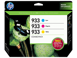 HP 933 Cyan/Magenta/Yellow Combo-pack