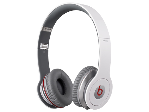 Beats by Dr. Dre Solo HD ControlTalk White Headphones