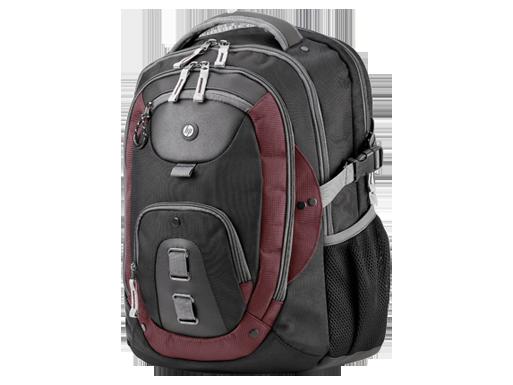 HP 15.6-inch Premier 3 Burgundy Backpack