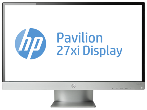 HP Pavilion 27xi 27-inch Diagonal IPS LED Backlit Monitor