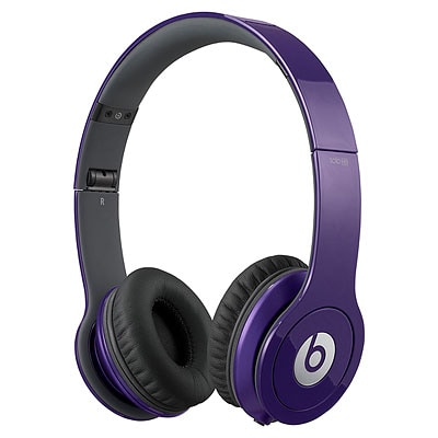 Beats by Dr. Dre Solo HD ControlTalk Purple Headphones