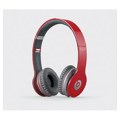 Beats by Dr. Dre Solo HD ControlTalk Red Headphones
