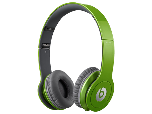 Beats by Dr. Dre Solo HD ControlTalk Green Headphones