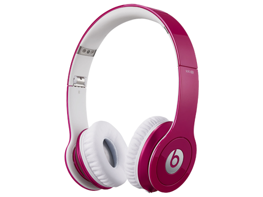 Beats by Dr. Dre Solo HD ControlTalk Pink Headphones