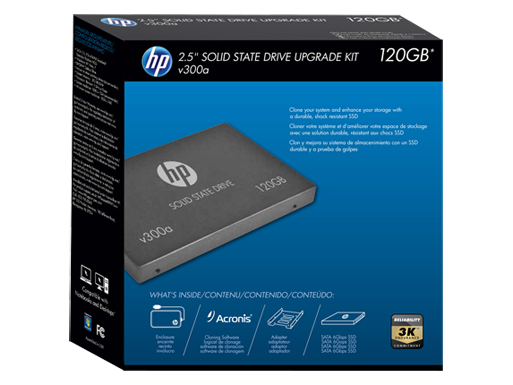 HP v300a 120GB Internal SATA Solid State Drive