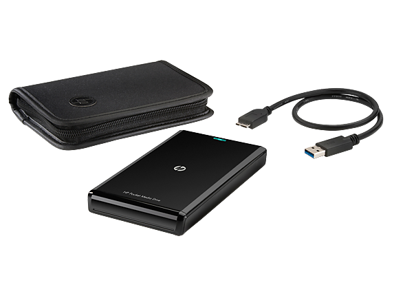 HP USB 3.0 500GB Pocket Media Drive