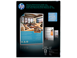 HP Premium Inkjet Matte Presentation Paper 120 gsm-100 sht/Letter/8.5 x 11 in