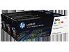 HP 305A 3-pack Cyan/Magenta/Yellow Original LaserJet Toner Cartridges