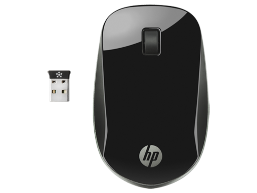 HP Z4000 Black Wireless Mouse