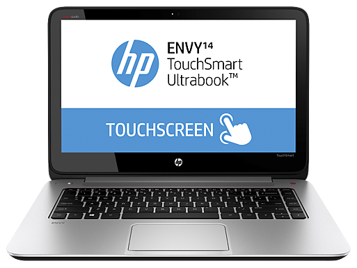 "HP ENVY TouchSmart 14t-k100  14"" Intel Core i7 Touchscreen Ultrabook"