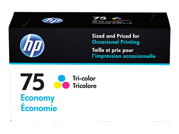 HP 75 Economy Tri-color Ink Cartridge