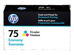HP 75 Economy Tri-color Original Ink Cartridge