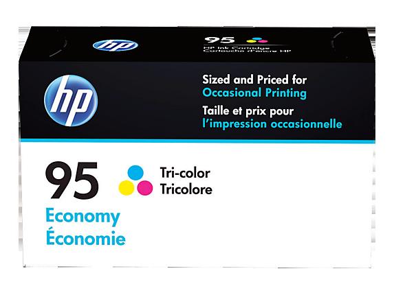 HP 95 Economy Tri-color Original Ink Cartridge