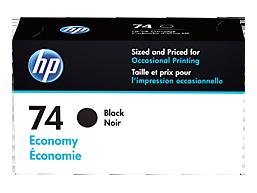 HP 74 Economy Black Original Ink Cartridge