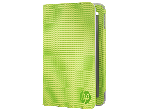 HP Slate 7 Green Folio Case