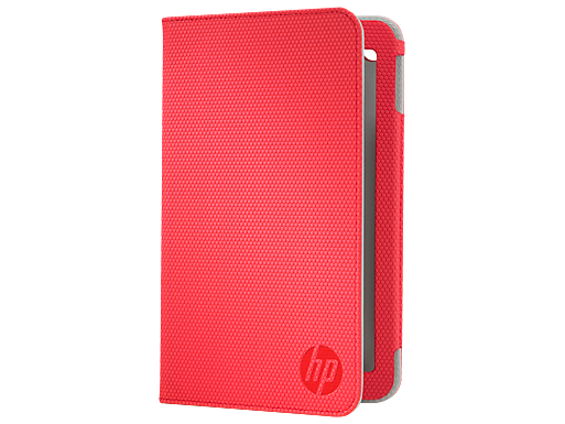 HP Slate 7 Red Folio Case