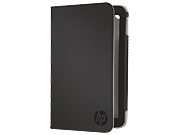 HP Slate 7 Black Folio Case