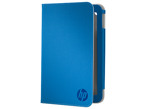 HP Slate 7 Blue Folio Case