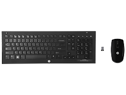 HP Wireless Elite v2 Desktop Keyboard (USB Wireless Nano Receiver with Mouse)