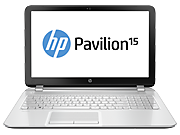 HP Pavilion 15t-n100  Notebook PC (ENERGY STAR)
