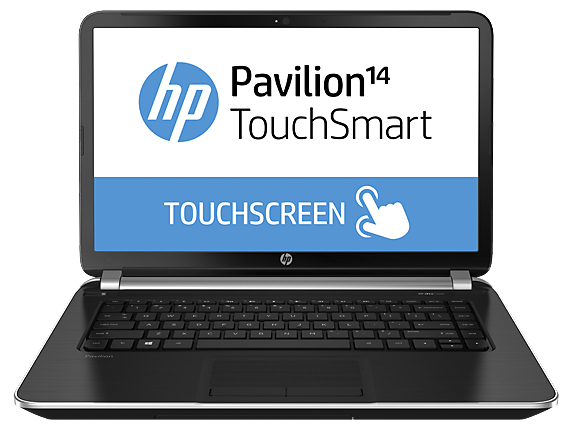 HP Pavilion TouchSmart 14z-n100 Notebook PC (ENERGY STAR)