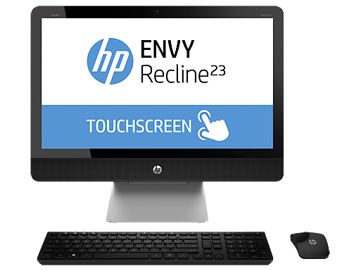 "HP ENVY Recline 23-k100xt 23""  Intel Quad Core i7 Touchscreen All-in-One Desktop"
