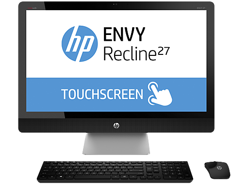 "HP ENVY TouchSmart Recline 27-k150xt 27"" Intel Quad Core i5 Touchscreen All-in-One Desktop"