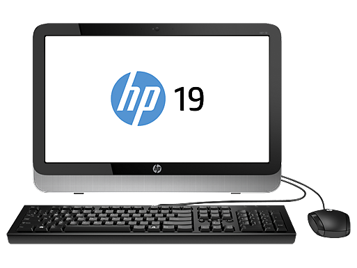 "HP Essential Home 19xt 19.4"" Intel Pentium Quad Core All-in-One Desktop"