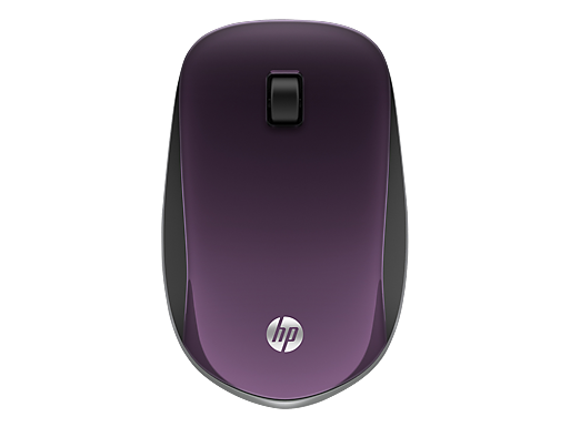 HP Z4000 Purple Wireless Mouse