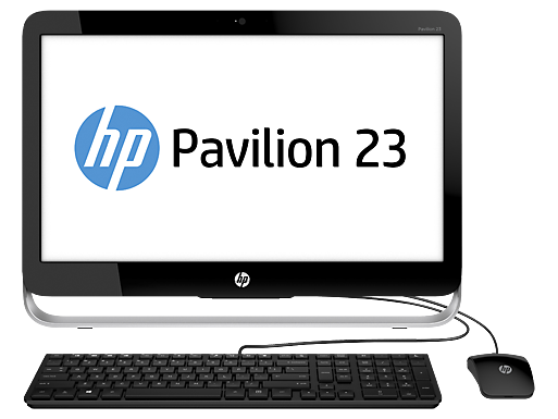 "HP Pavilion 23-g040xt 23""  Intel Quad Core i5 All-in-One Desktop"