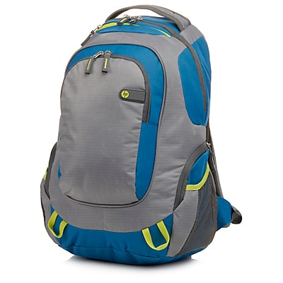 HP Outdoor Sport Green/Blue Backpack