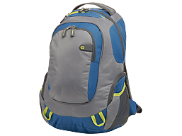 HP Outdoor Sport Green/Blue Backpack