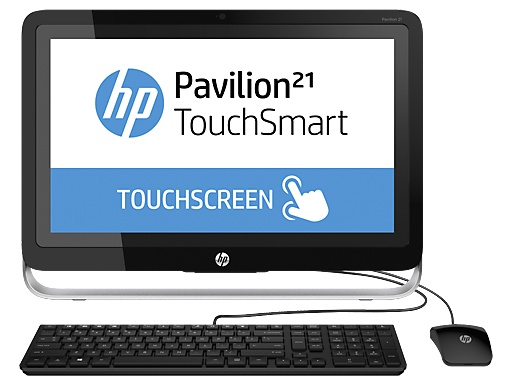 "HP Pavilion 21-h030z TouchSmart 21.5""  All-in-One Desktop"