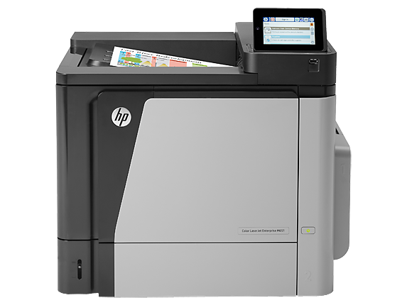 HP Color LaserJet Enterprise M651dn Printer