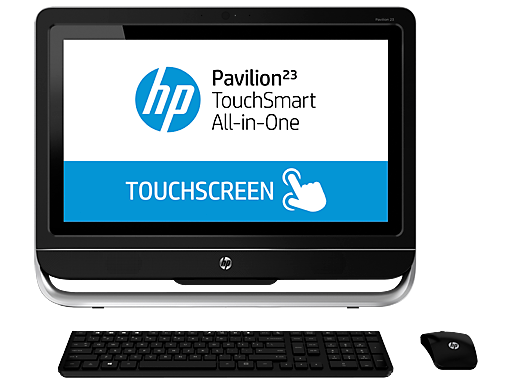 HP Pavilion 23-h060xt TouchSmart All-in-One  Desktop PC