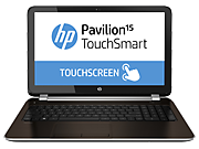 HP Pavilion 15 TouchSmart Notebook PC (ENERGY STAR)
