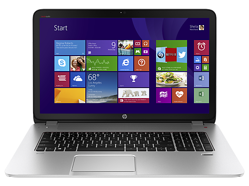 HP ENVY 17t-j100 Select Edition CTO Notebook PC (ENERGY STAR)