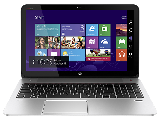 HP ENVY TouchSmart 15t Quad Edition Notebook PC (ENERGY STAR)
