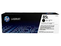HP 85L Economy Black Original LaserJet Toner Cartridge