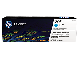 HP 305L Economy Cyan Original LaserJet Toner Cartridge