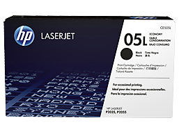HP 05L Economy Black Original LaserJet Toner Cartridge