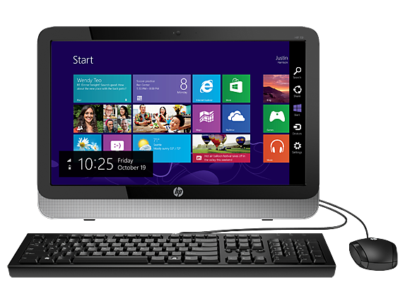"HP Essential Home 19xt 19.4"" Intel Quad Core i5 All-in-One Desktop"