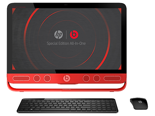 "HP ENVY 23xt Beats Special Edition 23"" Intel Quad Core i7 Touchscreen All-in-One Desktop"