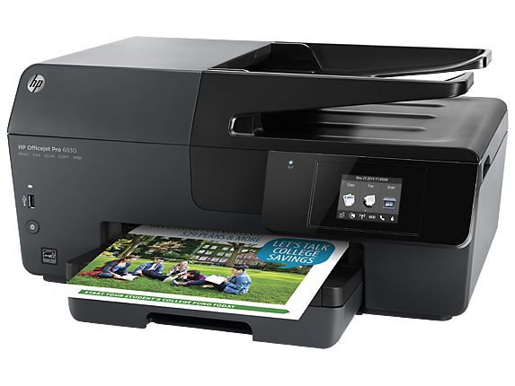 how to change ink in hp officejet pro 6830
