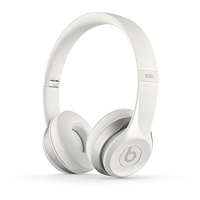 Beats Solo 2 On-Ear White Headphones