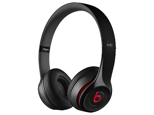 Beats Solo 2 On-Ear Black Headphones
