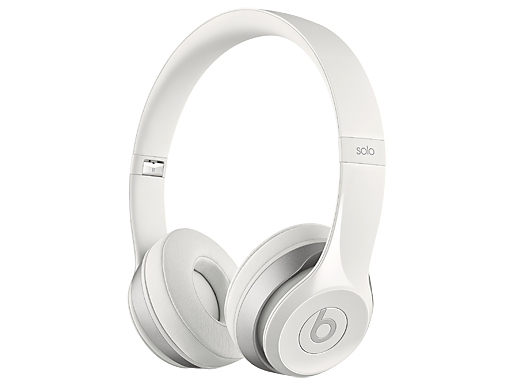 Beats Solo 2 On-Ear White Headphones