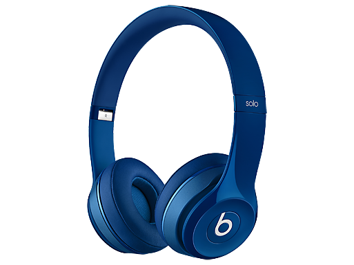 Beats Solo 2 On-Ear Blue Headphones